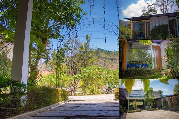 Bromo Ecolodge Hotel photo collage