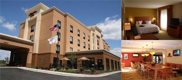 Hampton Inn & Suites by Hilton Adairsville Calhoun photo collage