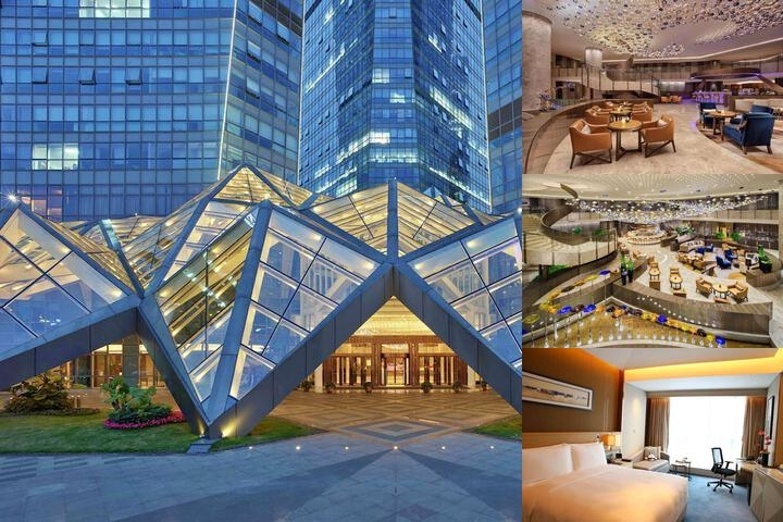 Hilton Chengdu photo collage