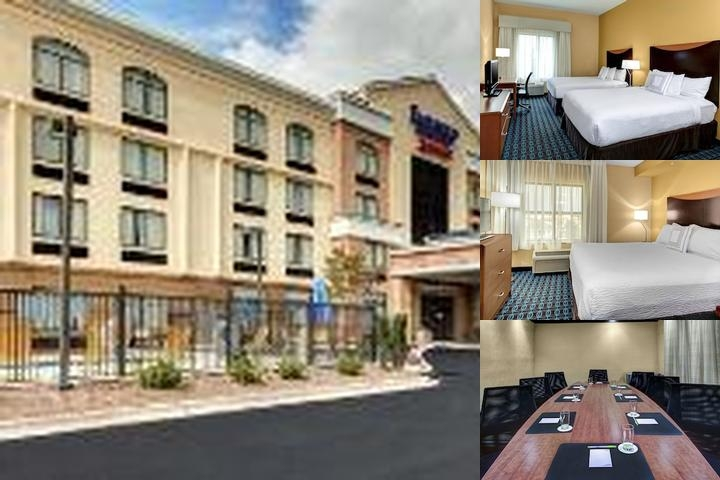 Fairfield Inn & Suites by Marriott Anniston Oxford photo collage