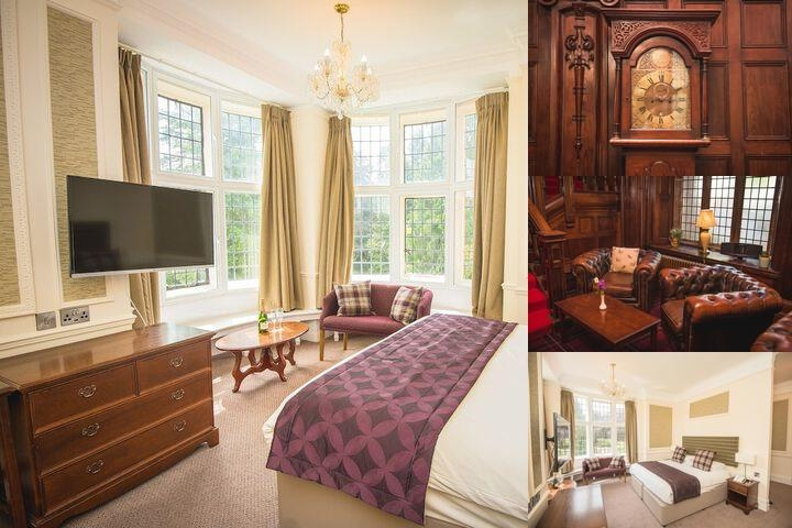 Friars Carse Country House photo collage