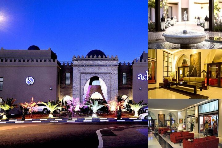 Adam Park Hotel & Spa Marrakech photo collage