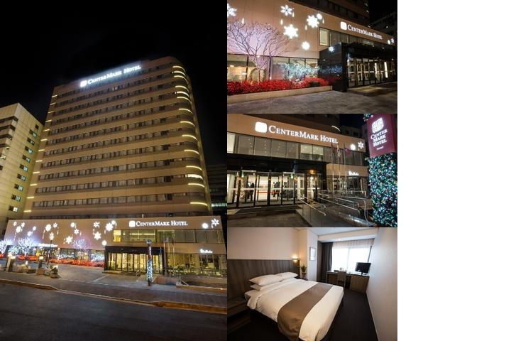 Center Mark Hotel photo collage