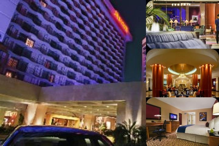 Anaheim Marriott Hotel photo collage