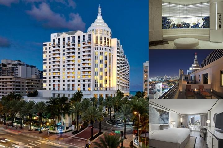 Loews Miami Beach Hotels photo collage