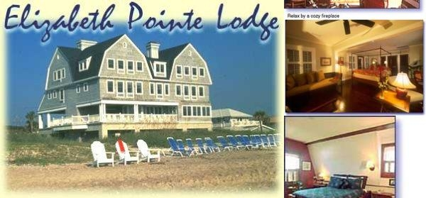Elizabeth Pointe Lodge photo collage