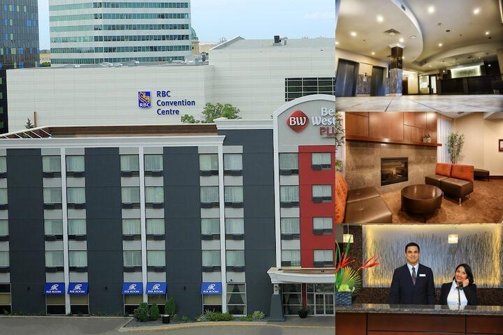 Best Western Plus Downtown Winnipeg photo collage
