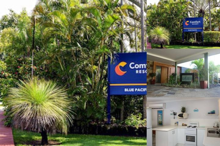 Comfort Resort Blue Pacific photo collage