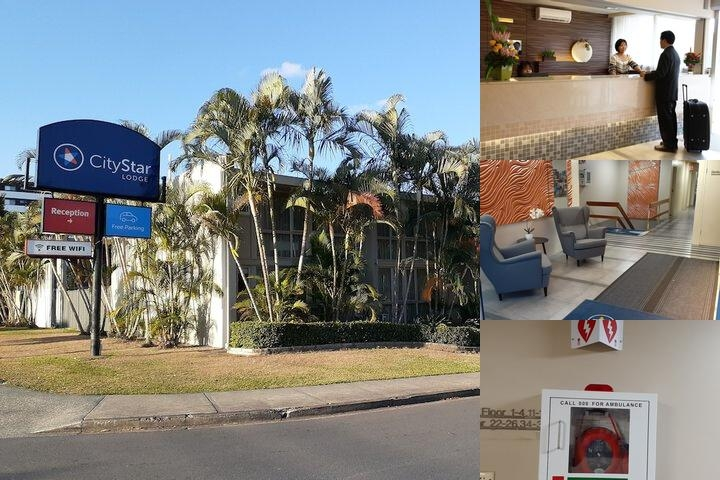 Econo Lodge City Star Brisbane photo collage