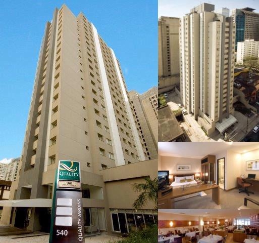 Quality Hotel Jardins photo collage