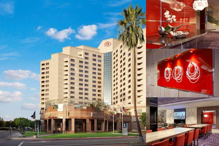 Hilton Long Beach photo collage