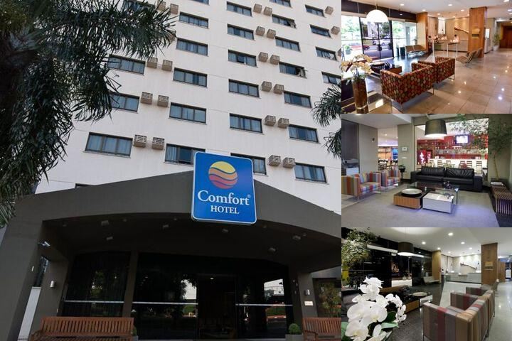 Comfort Hotel Goiania photo collage