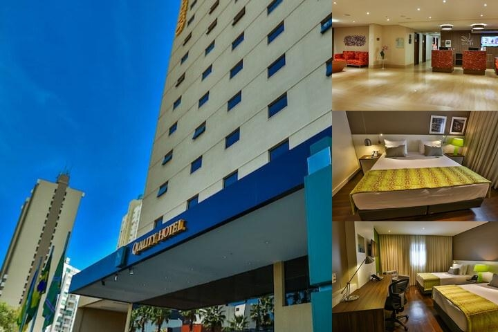 Quality Hotel Goiania photo collage