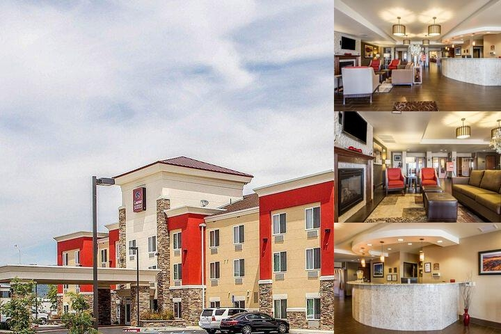 Comfort Suites Redding Shasta Lake photo collage