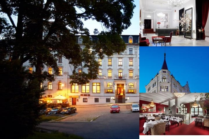 Clarion Grandhotel Zlaty Lev photo collage