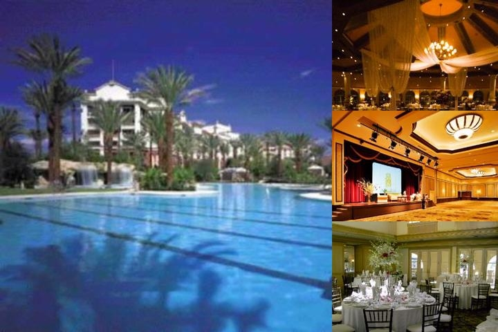 J W Marriott Las Vegas Resort photo collage