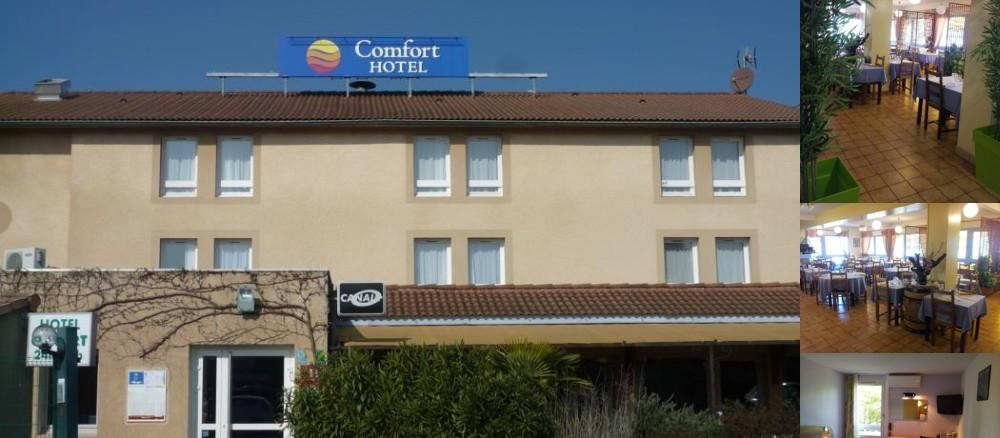 Comfort Hotel Valence photo collage