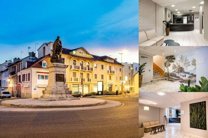 Quality Hotel Pau Centre Bosquet photo collage