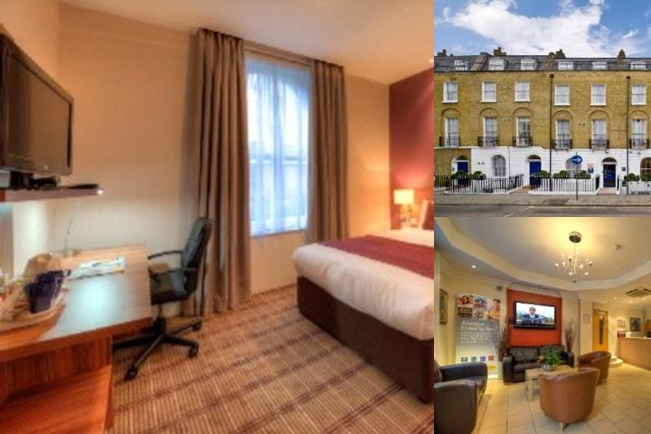 Comfort Inn St. Pancras Kings Cross photo collage