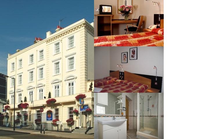 Comfort Inn Buckingham Palace Road photo collage