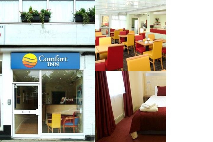 Comfort Inn Edgware Road W2 photo collage