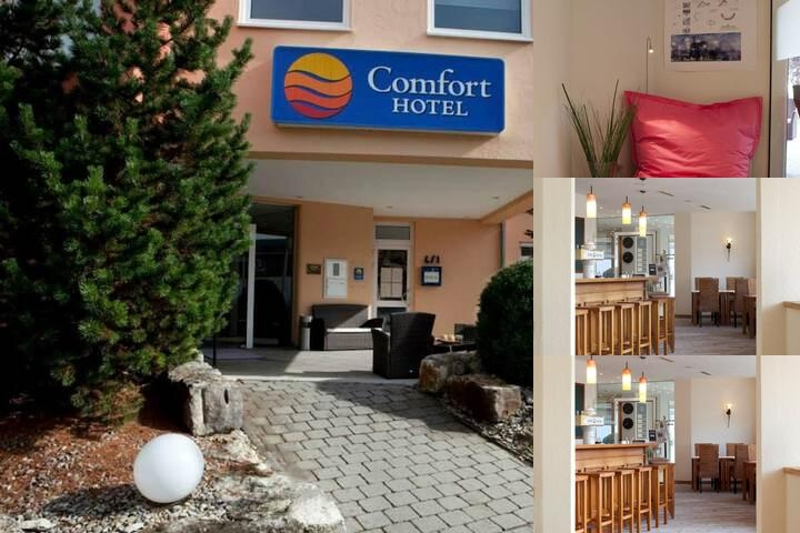 Comfort Hotel Ulm / Blaustein photo collage