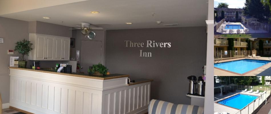 Three Rivers Inn photo collage
