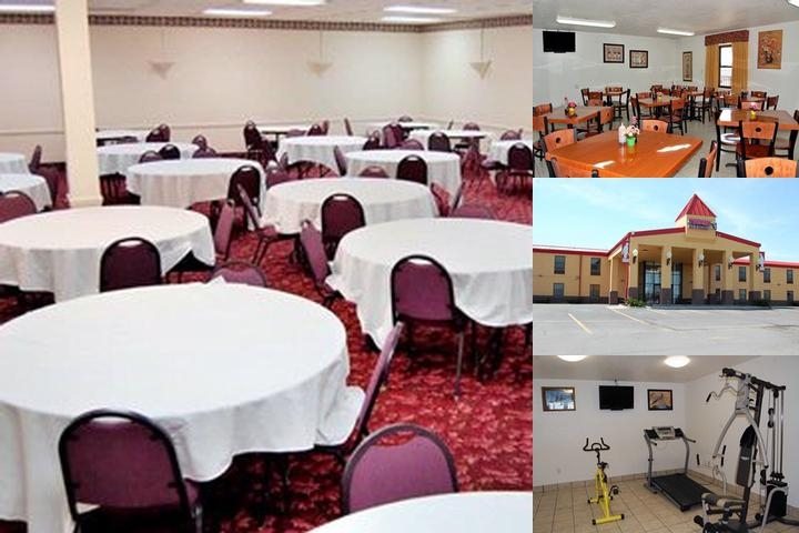 Econo Lodge Truman Inn photo collage