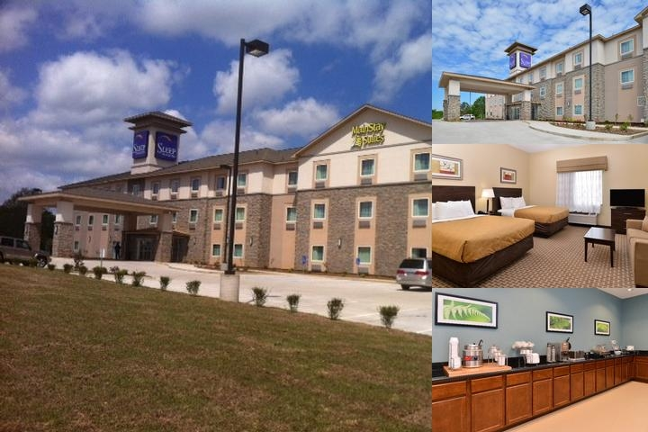 Mainstay Suites Meridian photo collage