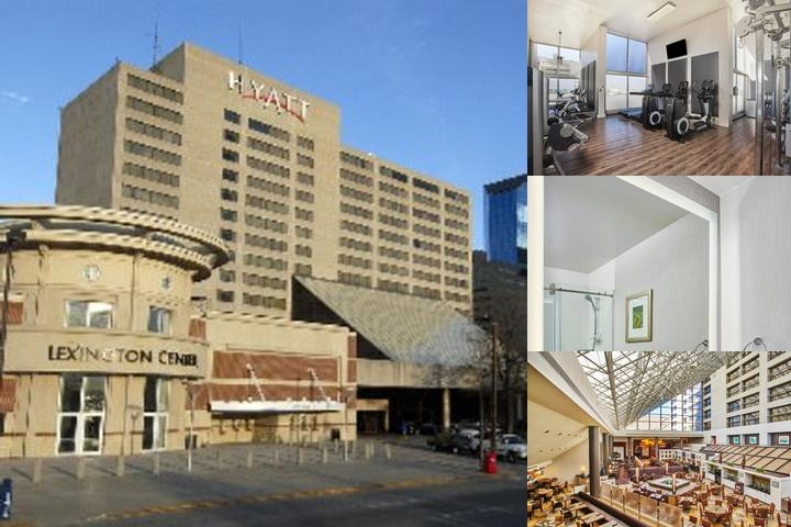 Hyatt Regency Lexington photo collage