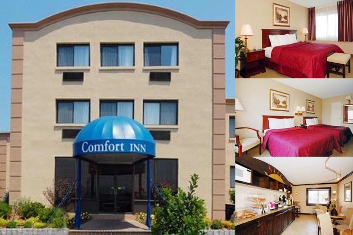 Comfort Inn Edgewater on Hudson River photo collage