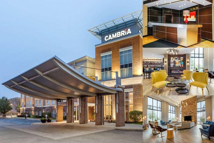 Cambria Hotel & Suites Akron Canton Airport photo collage