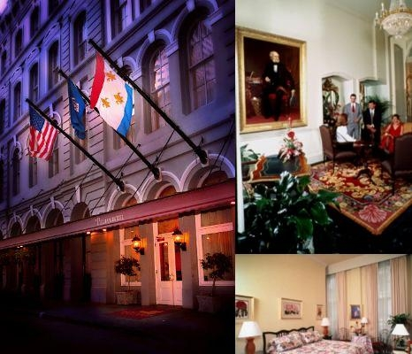 Pelham Hotel photo collage