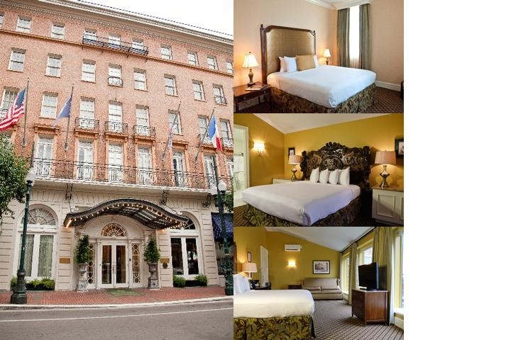 Lafayette Hotel photo collage