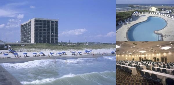 Doubletree by Hilton Atlantic Beach Oceanfront Hot photo collage