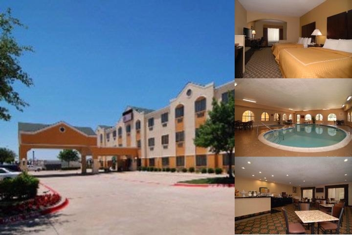 Comfort Suites The Colony Plano West photo collage