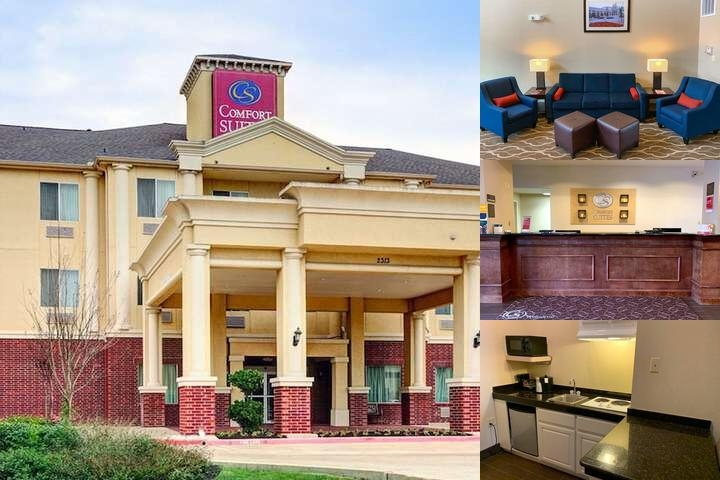 Comfort Suites Texas Ave. photo collage