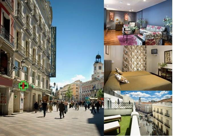 Hotel Moderno photo collage
