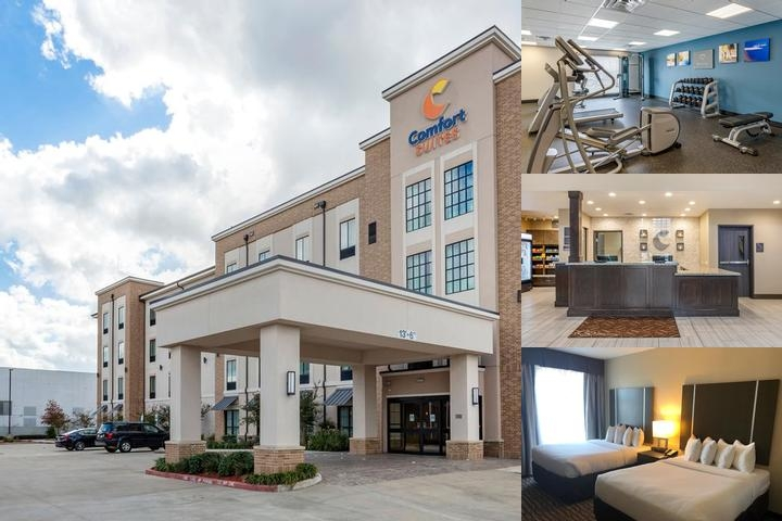 Comfort Suites Northwest Houston at Beltway 8 photo collage