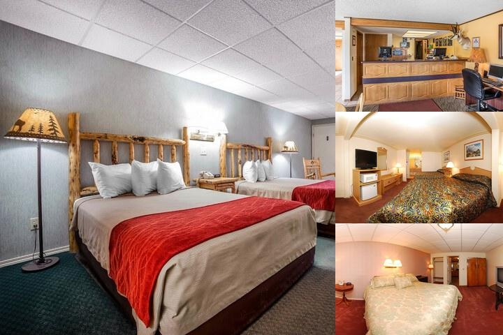 Rodeway Inn Pronghorn Lodge photo collage