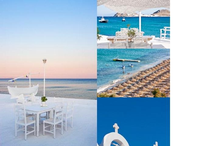 La Residence Mykonos Hotel Suites photo collage