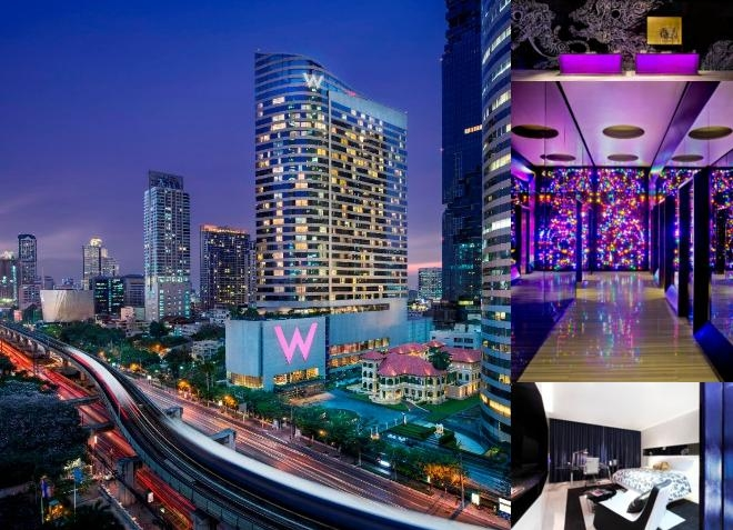 W Bangkok photo collage