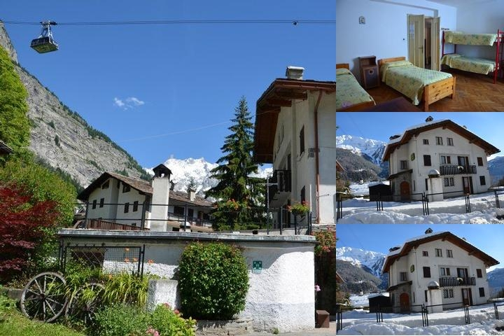 Notre Dame Du Mont Blanc photo collage