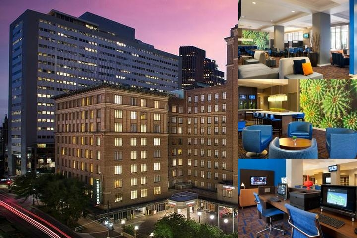 Courtyard by Marriott Houston Downtown photo collage