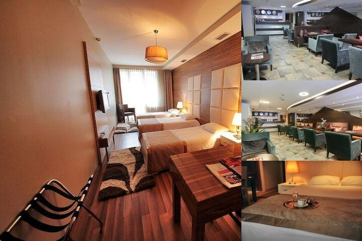 Derpa Suite Hotel Osmanbey photo collage