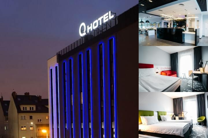 Q Hotel Kraków photo collage
