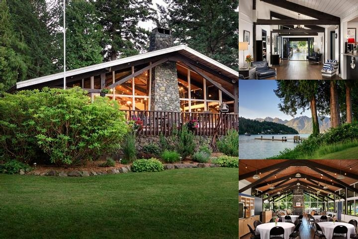 Bowen Island Lodge photo collage