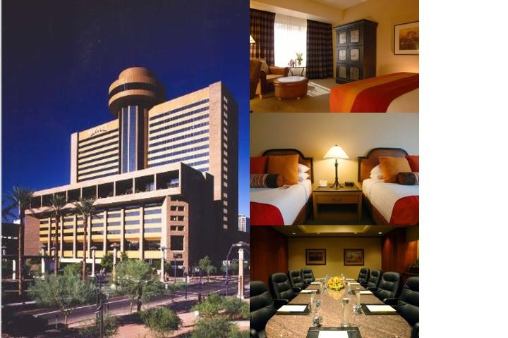 Hyatt Regency Phoenix photo collage