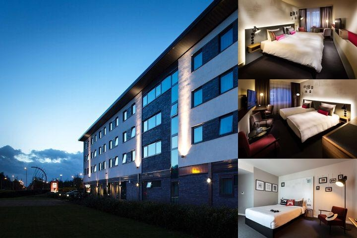 Pentahotel Warrington photo collage