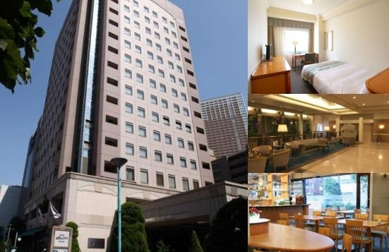 Hotel Jal City Tamachi Tokyo photo collage